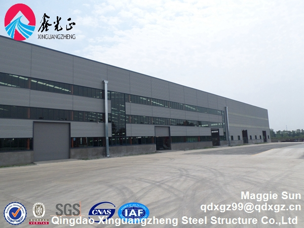 Building Construction design steel structure storage warehouse kit
