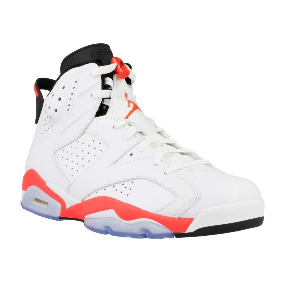 new product eced3 41794 Get Quotations · Jordan Mens 6 Retro White midnight Navy-varsity Red Size15