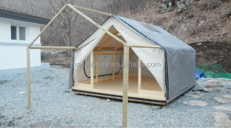new concept d33b0 ac1b5 100% canvas & waterproof permanent outdoor glamping tent / outdoor shelter  tent, View permanent outdoor tent, Grand Castle Hote Product Details from  ...