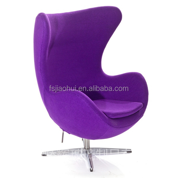 JH 026 Modern Furniture Aviator Vintage Leather Egg Chair Canada For Living  Room