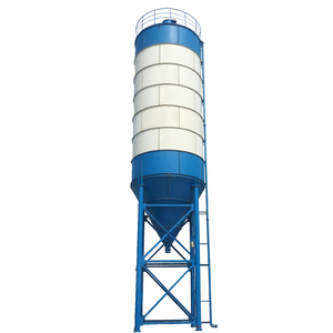 Vertical Detachable 80Ton Cement Silo Tank