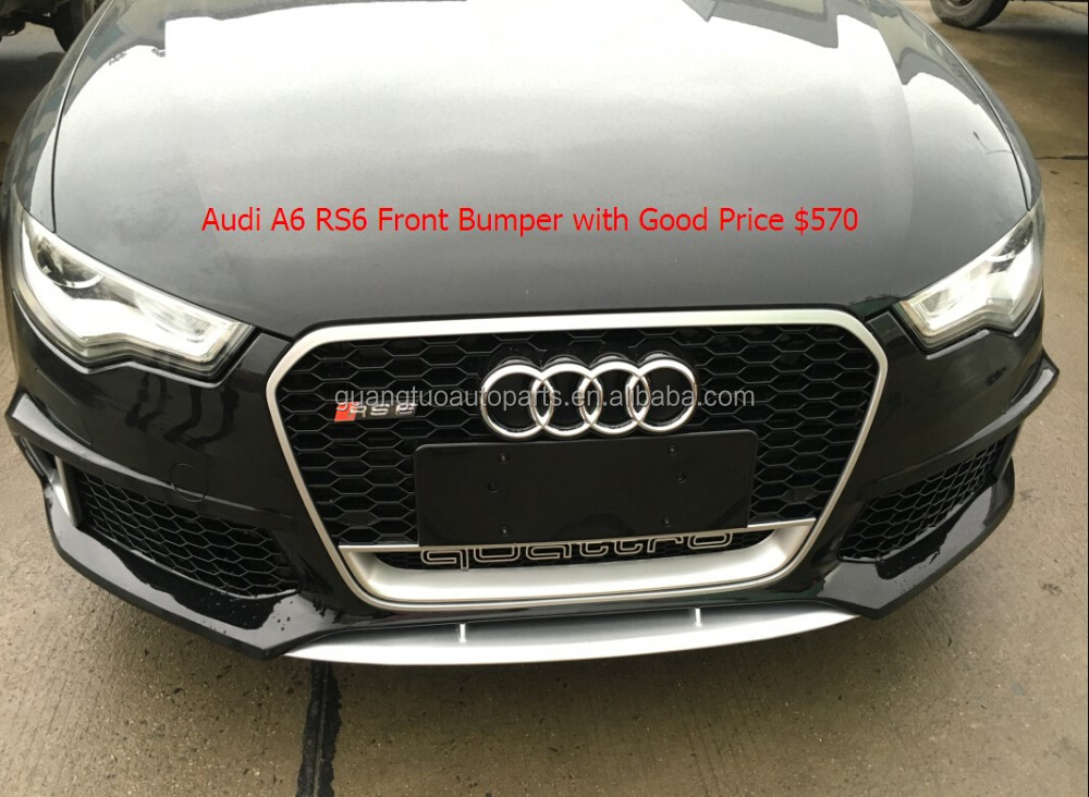 front bumper kit for audi a6 c7 2012 2014 year body kits. Black Bedroom Furniture Sets. Home Design Ideas