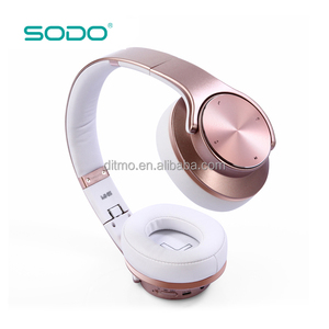 New headphone bluetooth wireless headset support TF Card,NFC,FM Radio,Aux-in,USB