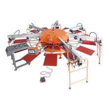automatic Tshirt screen printing machine