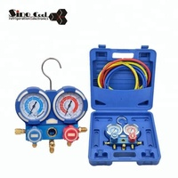 Accurate Dual Manifold Gauge apply for R410A R22 R134a R407C R404a