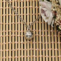 Yiwu Zijie Jewelry fashion sport men basketball 3D pendant zinc alloy material necklace