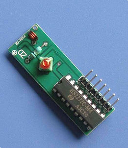 promotional wireless transmitter and receiver module