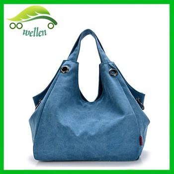 Euro Retro Style Hobo Hand Bag Canvas Shoulder Bag Hobo Slouch Bag ...