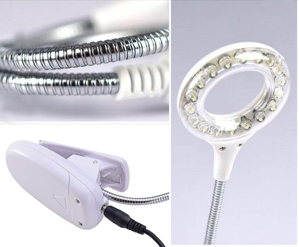 helle flexible led licht buch leselampe led clip lichter. Black Bedroom Furniture Sets. Home Design Ideas