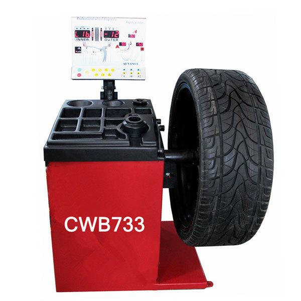 Balancing Tires machine