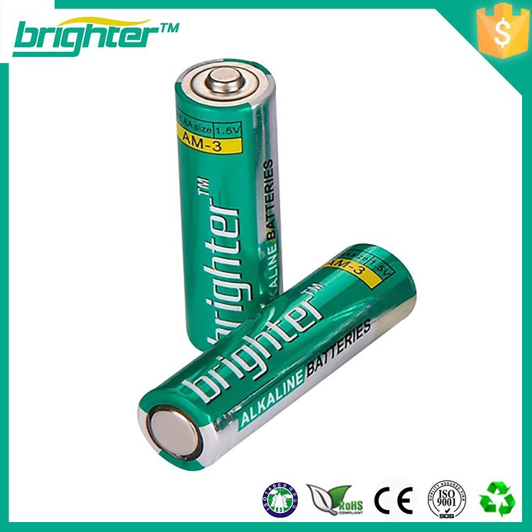 Great power battery for radio 1.5v um3 battery aa size battery