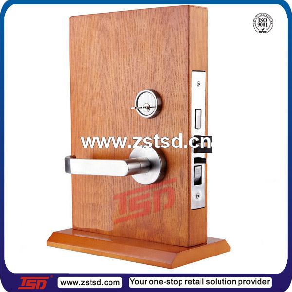 Tsd W5500 Door Handle Display Rack Rotating Wooden Display