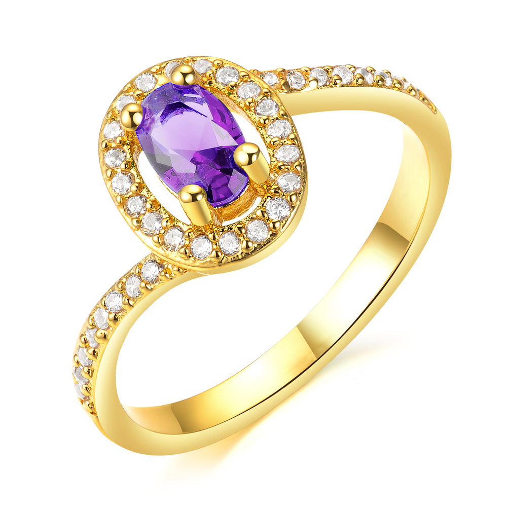 2015 Fashion Type Ladies New Design Charm 18k Italian Gold Rings ...