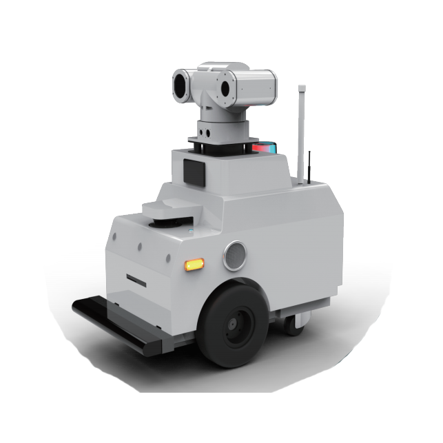 Intelligent Autonomy patrol Security Patrol Robot XZZ-4B Series