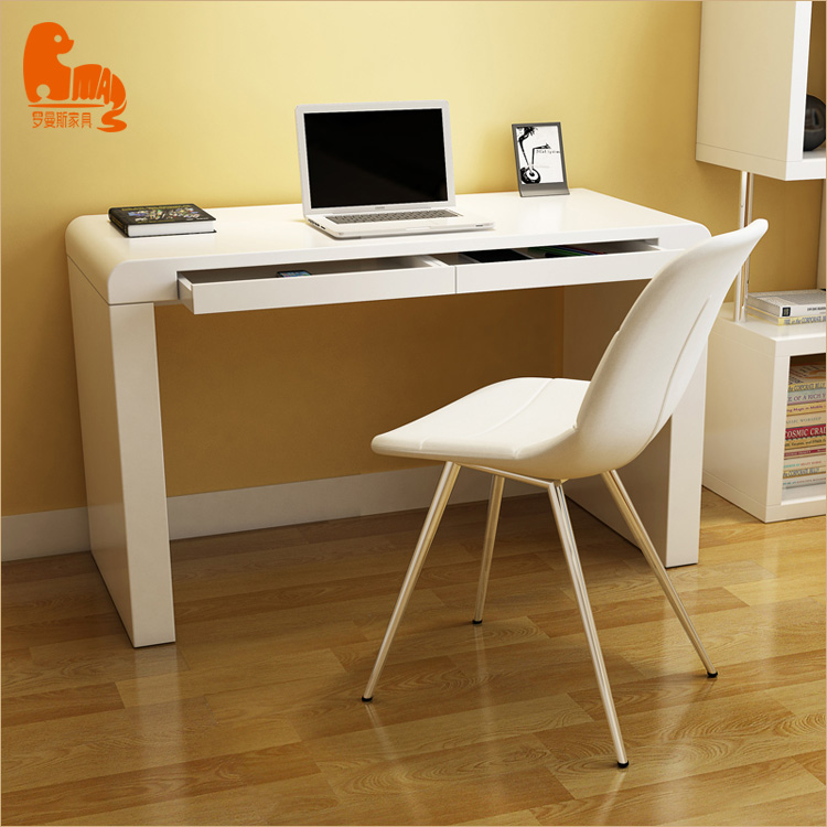 custom stickers modern round office desk office computer table design