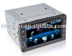 6.2 inch Double Din Car GPS DVD with 800 * 480/ Panasonic IC