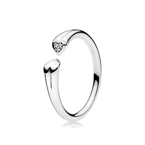 Wholesale fashion engagement ring silver 925 rings for women high quality