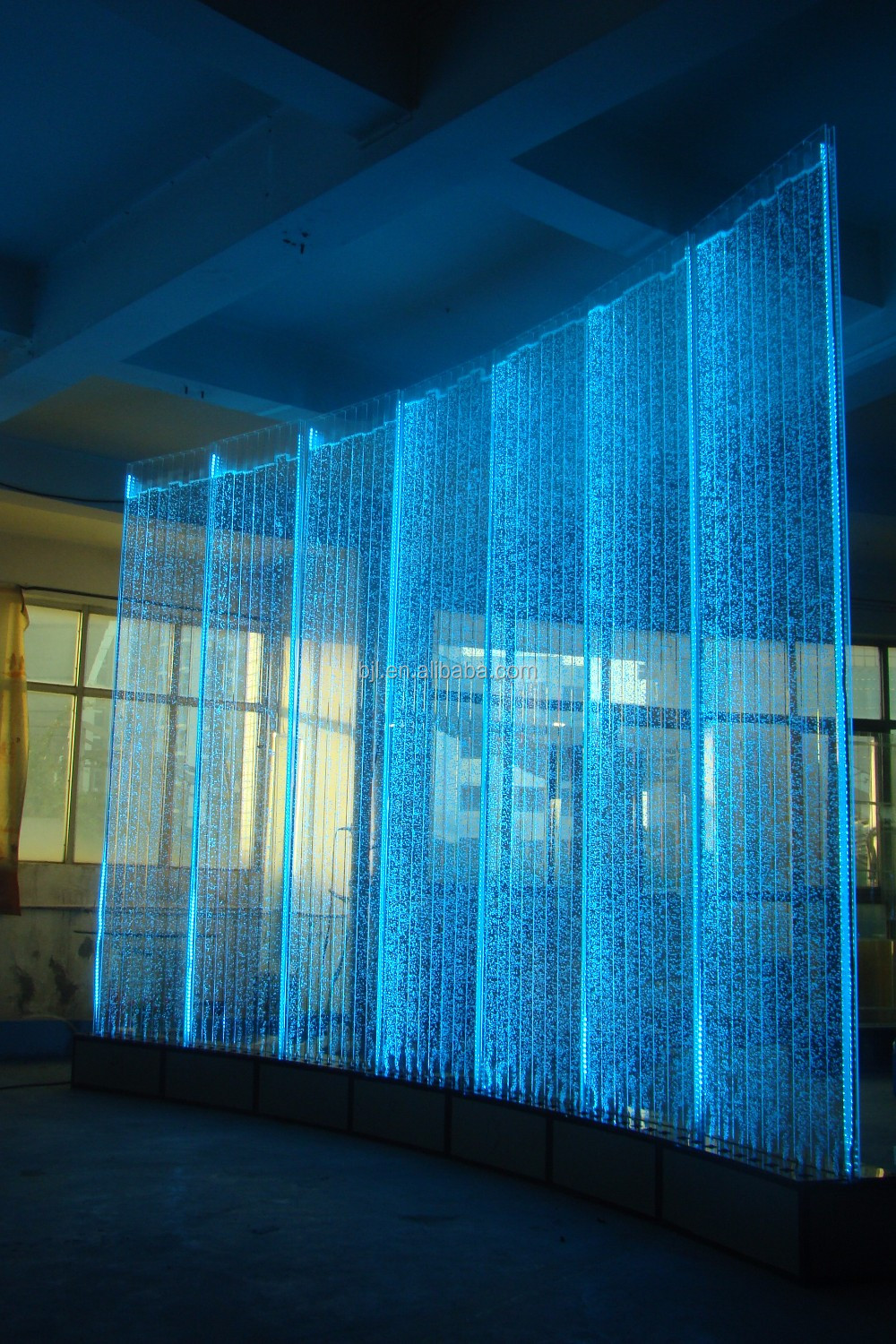 Led Water Bubble Wall For Wedding Stage Event Stand