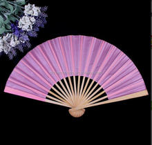 Custom printed decorative wedding souvenir chinese hand fan with new design logo