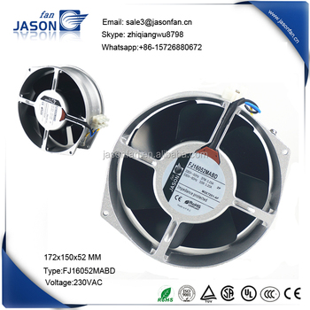 160 mm aksiyel fan FJ16052MABD
