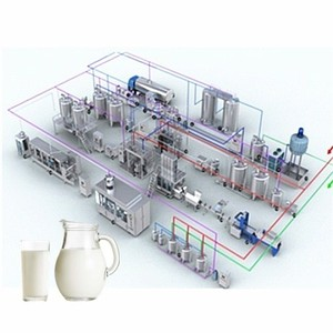 the high condensed milk dairy production line plant equipment