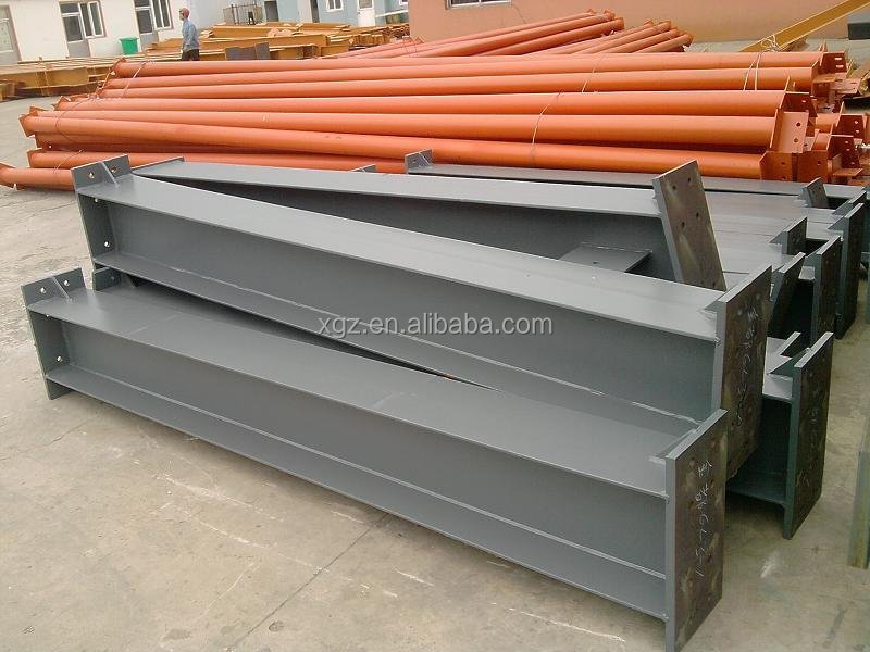 Lightweight Prefab Workshop Factory Building Steel Construction