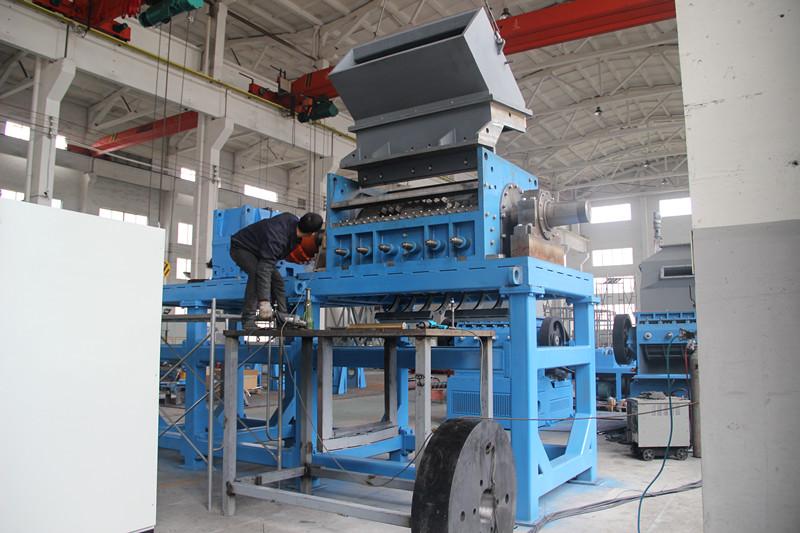 Pneumatico trituratore frantoio pneumatico briciola pneumatico macchina in polvere della macchina