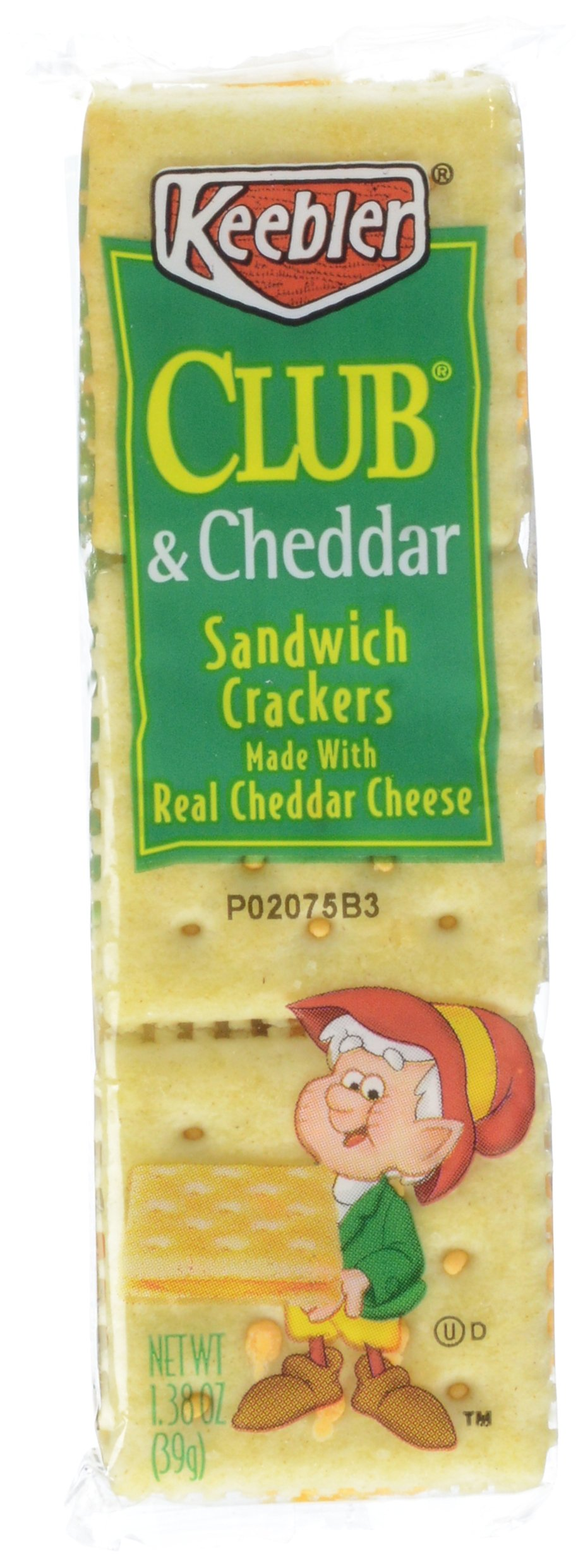 Keebler, Club & Cheddar Cracker Pack, 8 ct, 10.4 oz