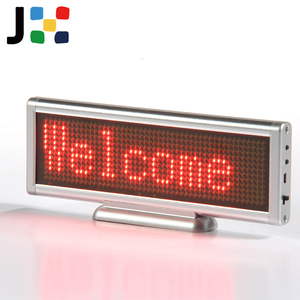 Portable LED Display Board Rechargeable Mini Screen