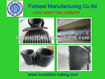 EPDM material of solar water heater collector in high quality