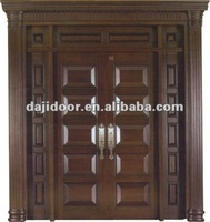 Exterior Entry Doors With Side Lite And Transom DJ-S8436STHS