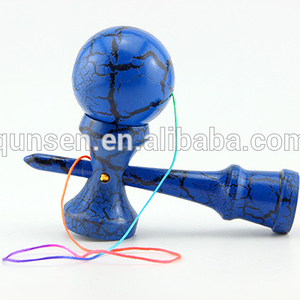 hot selling custom cheap bamboo kids kendama wooden games toys