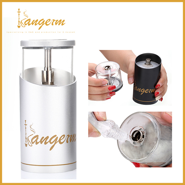 2017 New design Kangerm portable E hookah SHISHA HEAD / hookah hose disposable / nargile /hubbly accept paypal