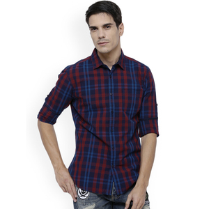 OEM Service Hot Sale Latest Shirts Pattern of Dri Fit Plaid Shirts for Men Wholesale