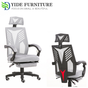Mid back black mesh computer task office chair conference chair