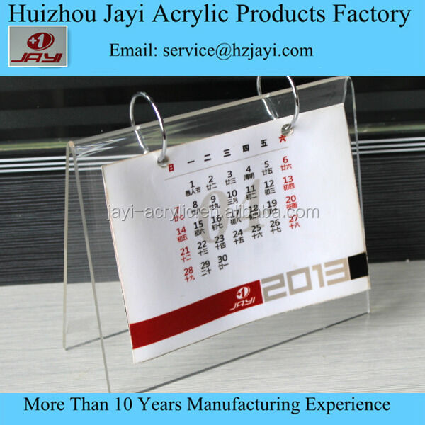Alibaba China Supplier Oem Latest Acrylic Table Calendar Design ...