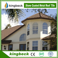 Cost-effective Kingbeck Stone Coated Metal Roofing Materials for Residential