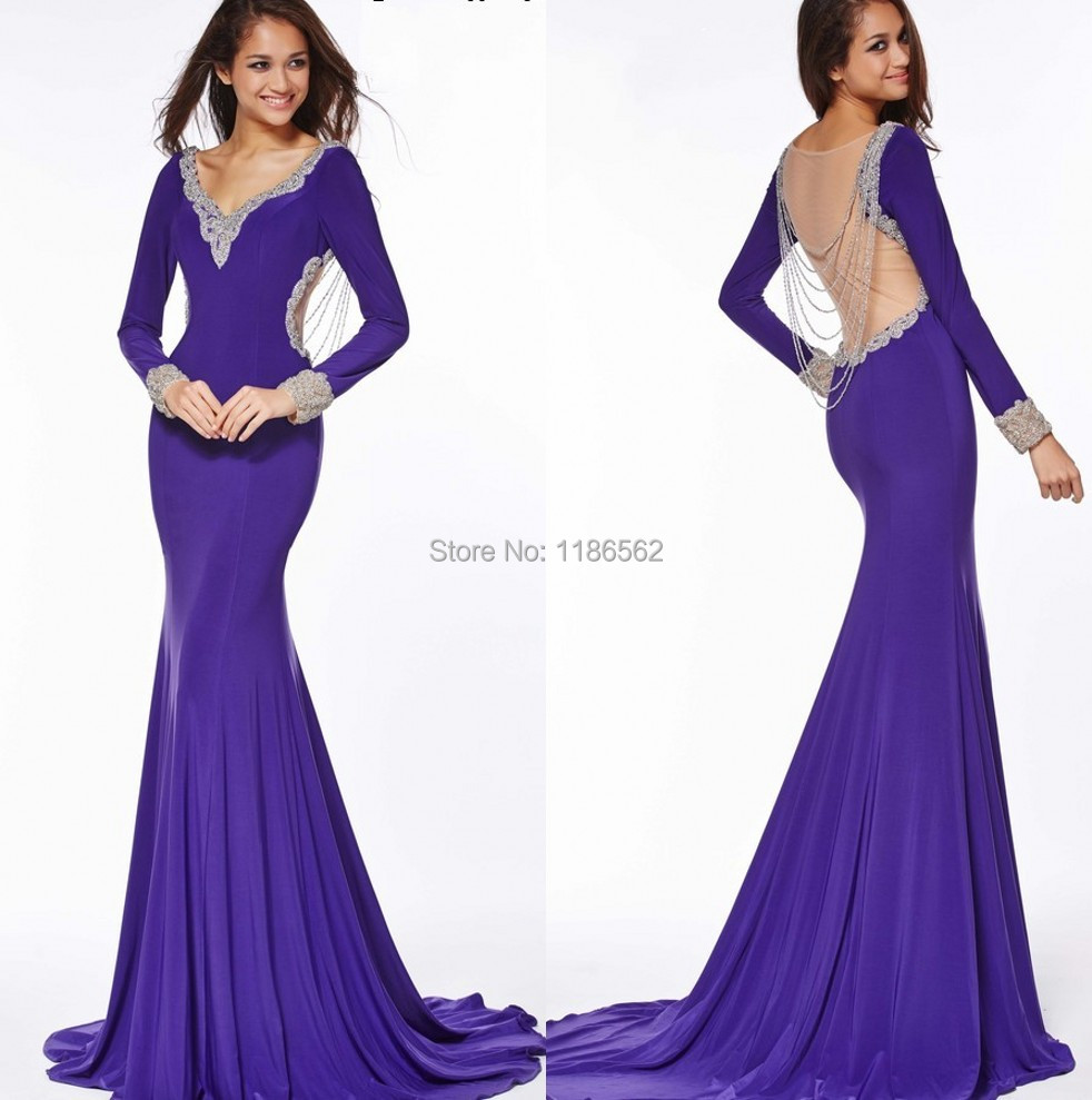 Cheap Purple Mermaid Style Prom Dresses Find Purple Mermaid Style