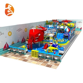 Factory custom multi projects kids colorful indoor children game equipment playground