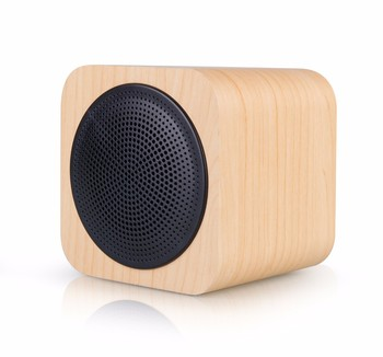 Foste A008 Mini Wooden Speaker Bluetooth Wood Square Cube Portable Radio Fm Sd Aux Hans Free Bluetooth Speakers At Buy Mini Bluetooth Speaker With Fm