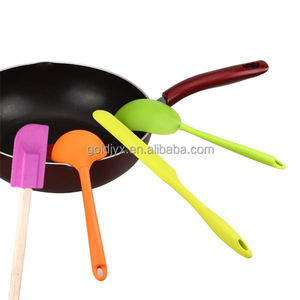3 piece bpa free silicone spatula set,silicone kitchen gadgets