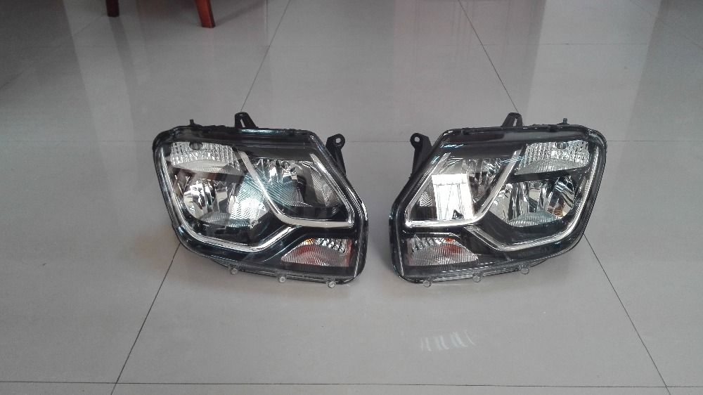 Renault Duster / Dacia Duster 2015 Head Light Tail Lamp Auto Spare Parts 260105828R/260606709R