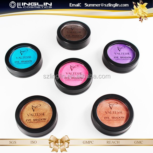 (Stock )French private label high quality single color eyeshadow