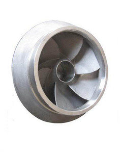 Customized Precision Lost Wax Investment Casting 316l Stainless Steel impeller