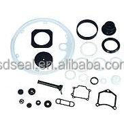 Molded rubber ring seals