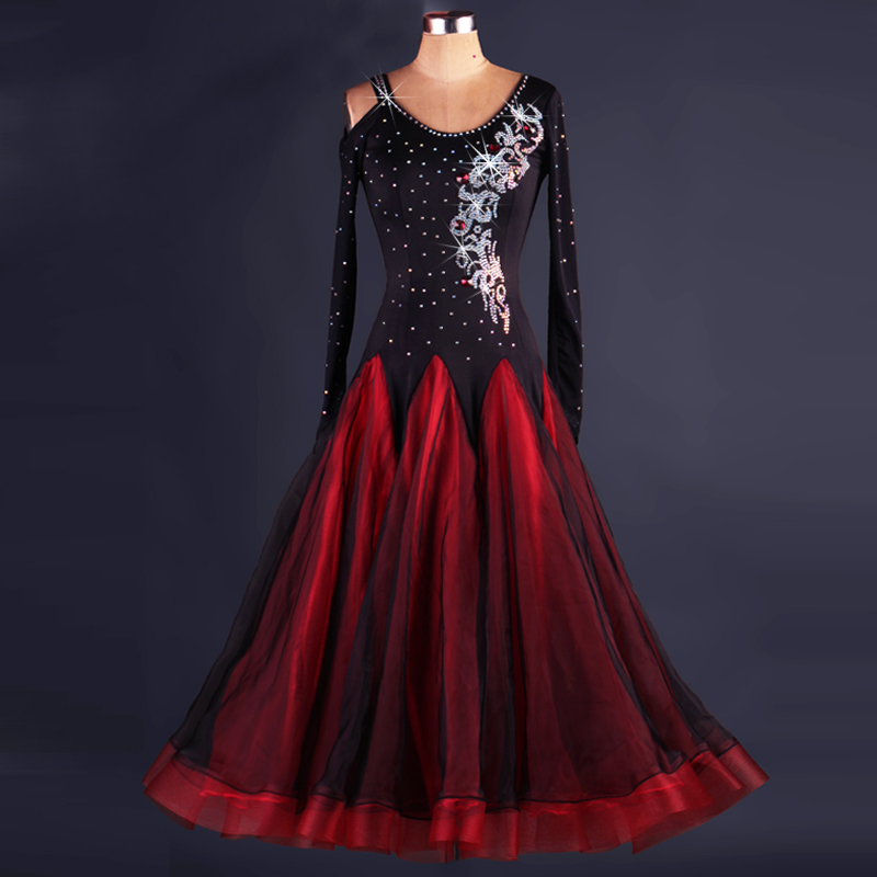 Octm048 Hot Sale Plus Suze 2018 Ballroom Dance Dresses - Buy High ...