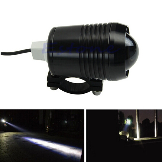 exLED 30W White Electric/Motorcycle LED Headlights / Modification Lens Strong Light-12V CREE U2 LED