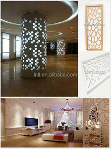 Interior aluminum perforated panel, decoration building material, restaurant curtain wall material