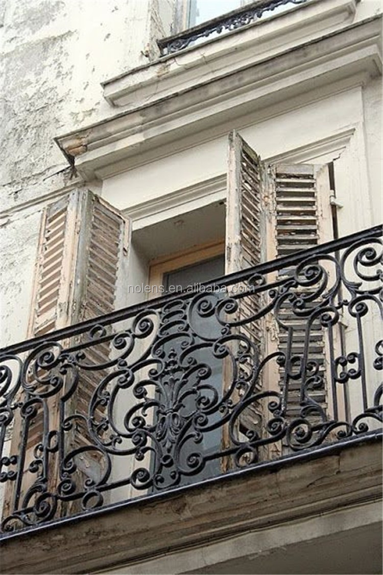 Ornamental railing panels - Beautiful Forged Steel Ornamental Iron Flower Panel For Wrought Iron Balconies