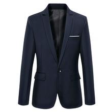 2015 New Arrival Luxury Blazer Men Spring Fashion Brand Quality Cotton Slim Fit Men Suit The dress Terno Masculino Men Blazer